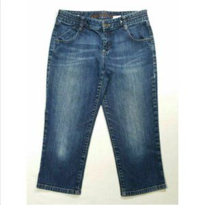 EDDIE BAUER Women Capri Jeans Low Rise 2367E1M